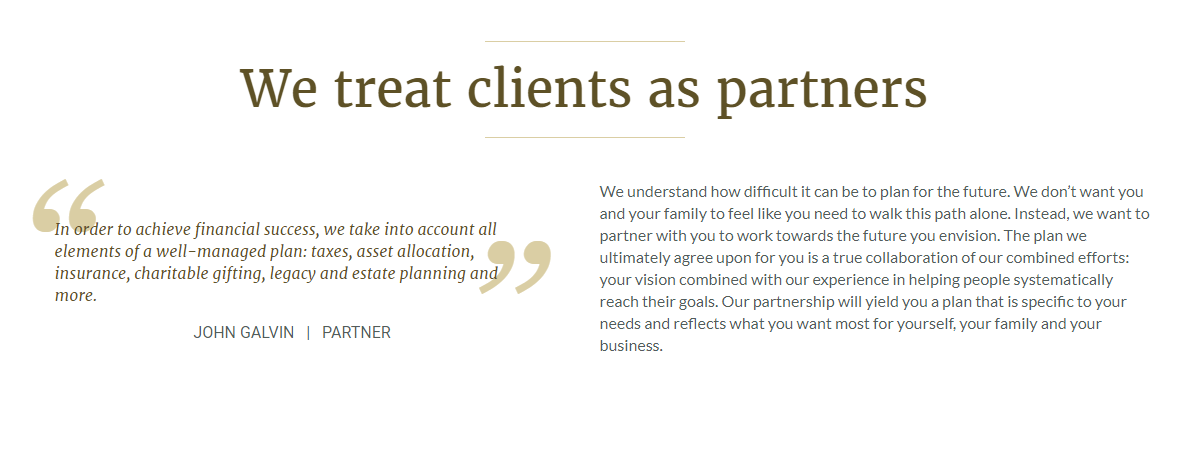 Talbert talbert client feature capital management group a seen mostly through comfortable returns of satisfied clients and referrals to ensure their names prestige remains at the forefront of private wealth malvernweather Image collections